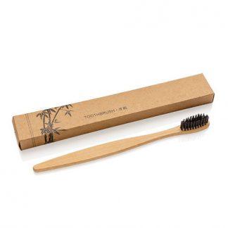 Bamboo houtskool tandenborstel