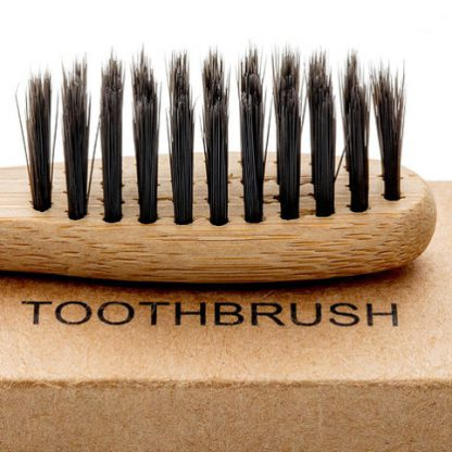 Bamboo houtskool tandenborstell